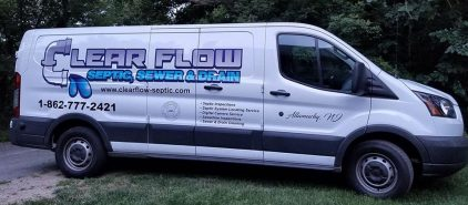 Clearflow Septic Van